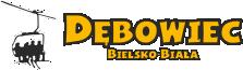 """Bielsko-Bialski Ośrodek Rekreacyjno-Narciarski """"Dębowiec"""" Logo"""